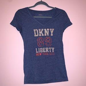 Blue DKNY T-Shirt
